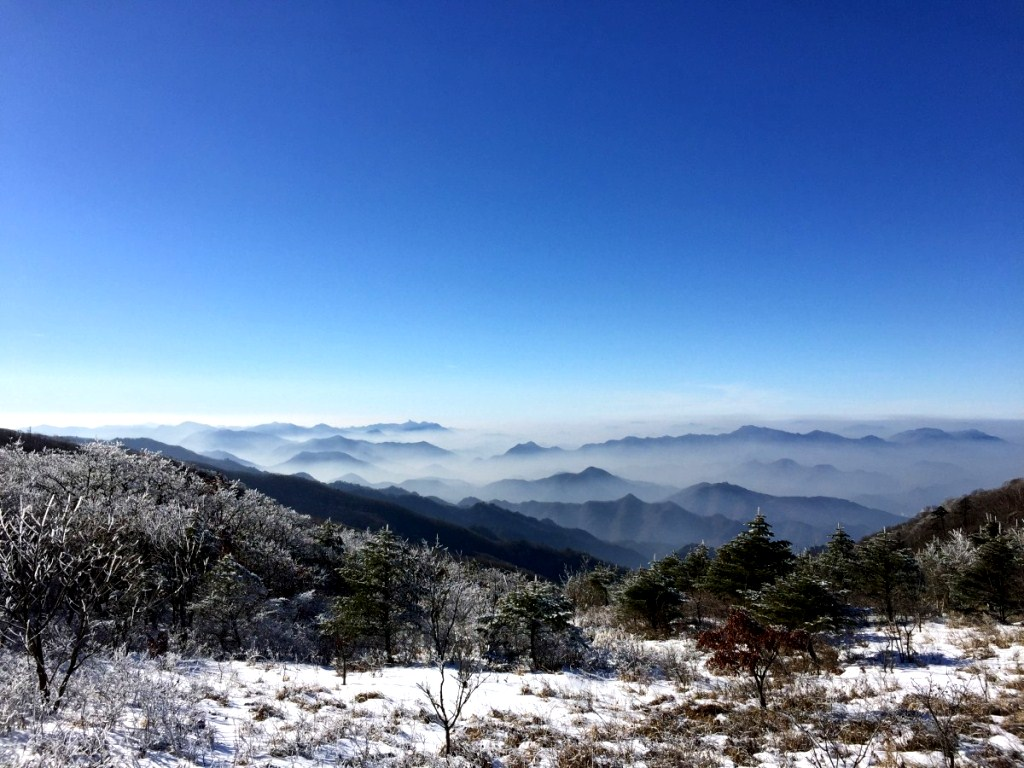 Taebaek Mountains - Mt. Sobaeksan