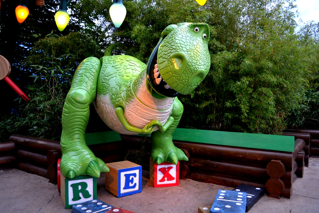 Toy Story Land - Rex