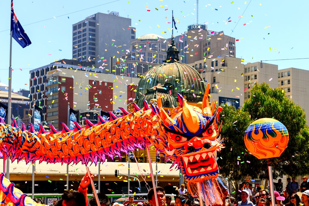 Chinese New Year - Melbourne, Australia