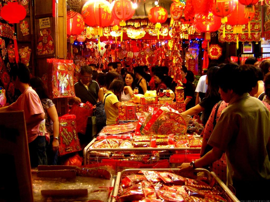 Chinese New Year - Market