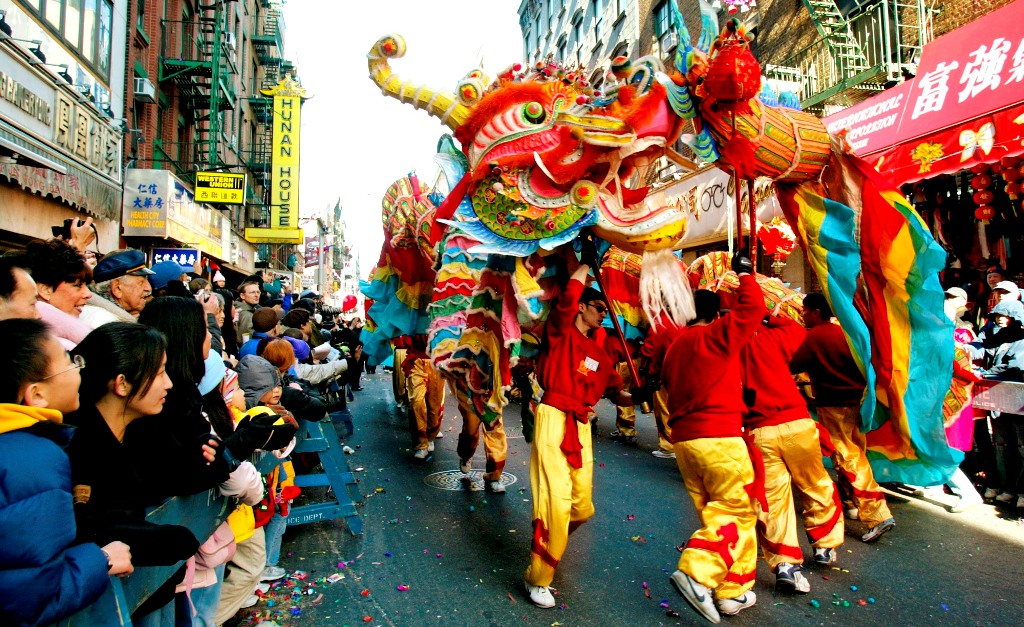 Chinese New Year - Dragon in Chinatown NYC