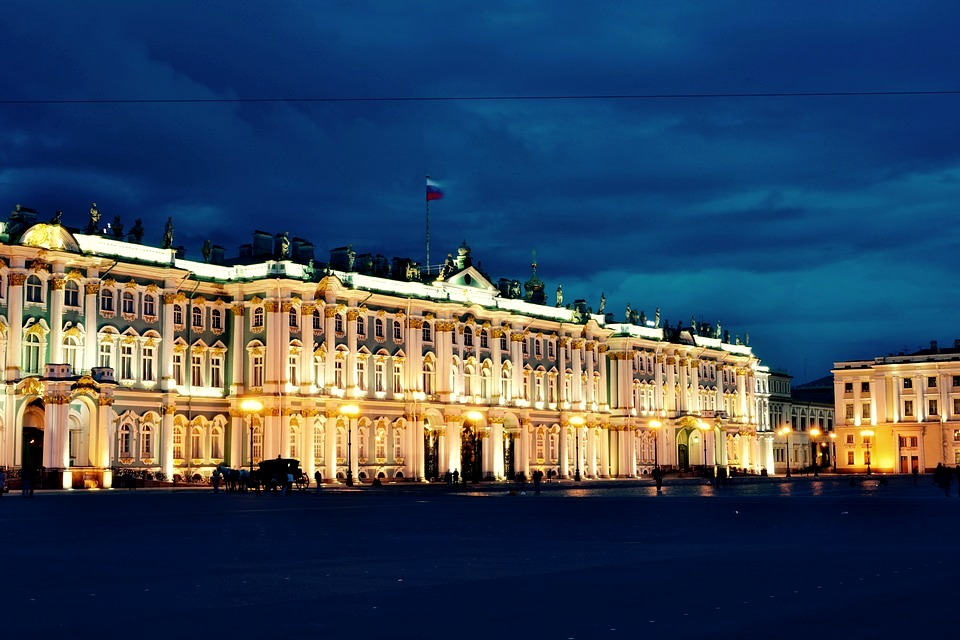 St Petersburg - Hermitage at Night