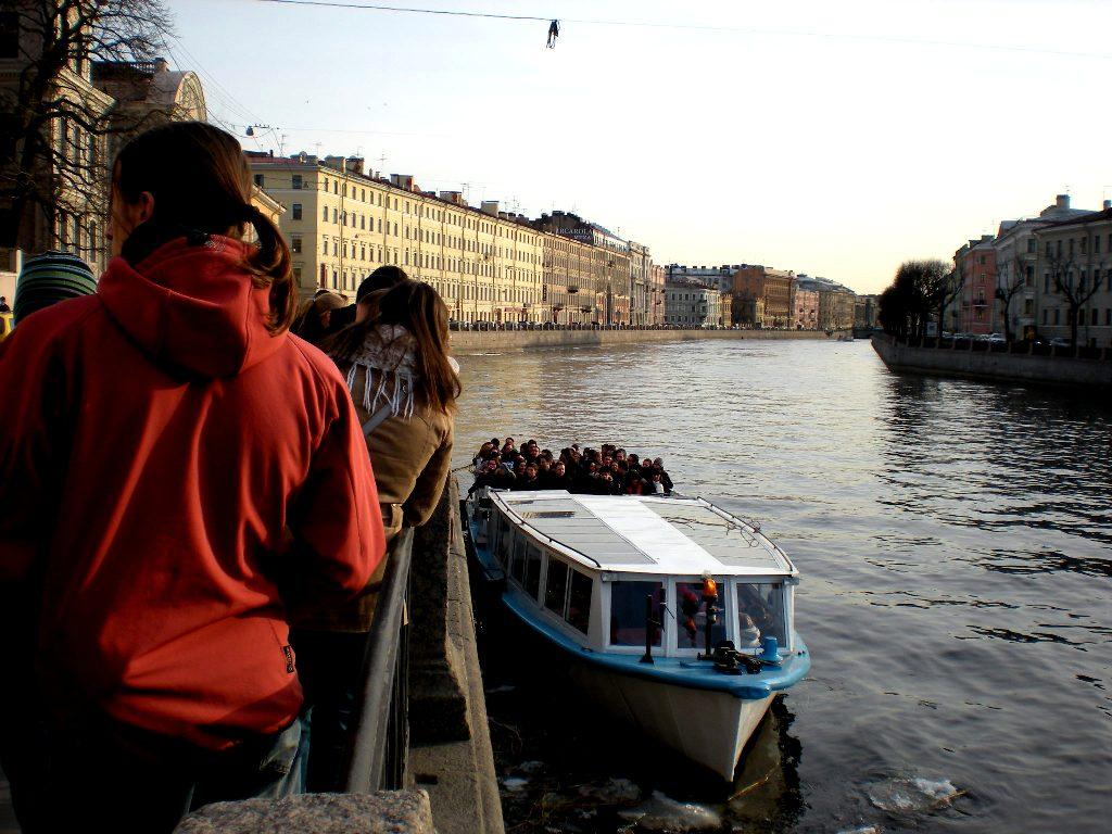 St. Petersburg - Boat Trip