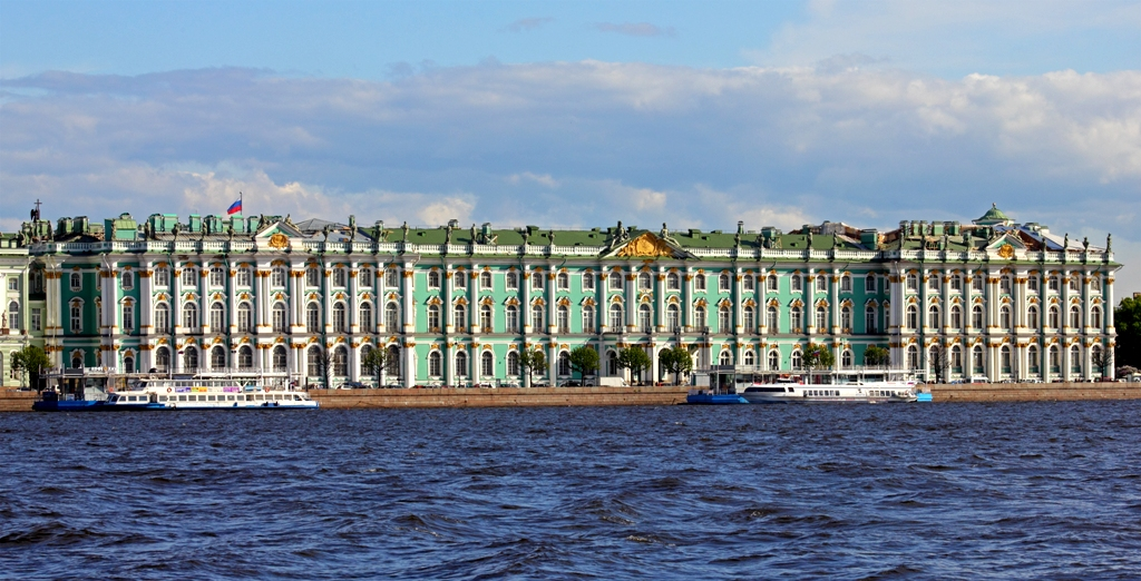 St Petersburg - Hermitage during the day