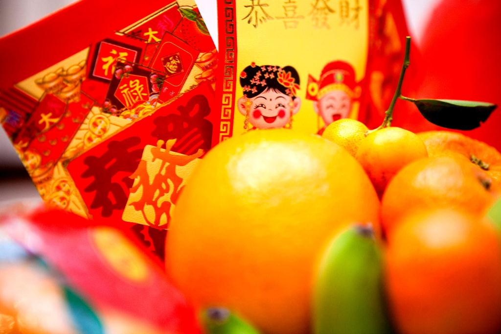Chinese New Year - Good health and Good Fortune Cards