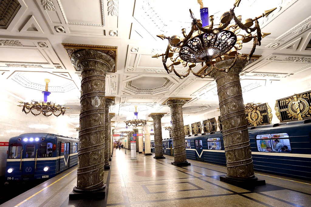 St. Petersburg - Train station